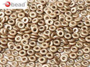 O-02010-25005 Pastel Light Brown O bead ® 5 gram-0