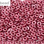 O-02010-25031 Pastel Burgundy O bead ®  5 gram-0