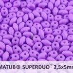 SD-02010-29570 Silk Mat Opaque Violet, Superduo-0