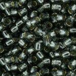 TR-08-0029 Silver-Lined Black Diamond 8/0 TOHO-0