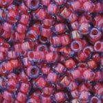 TR-08-0304 : Inside-Color Lt Sapphire/Hyacinth Lined 8/0 TOHO-0