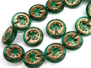 0100122 Emerald Green, Copper decor, Live Tree 10 Pc.-0