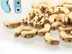 ARC-00030-01710 Light Gold Mat Arcos par Puca 10 gram-0