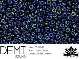 TN-11-0088 Demi Round TOHO Metallic Cosmos-0