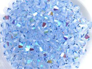 03-MC-30020-28701 Bicones Light Sapphire AB 50 Stuks-0