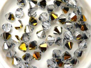06-MC-00010-28036 Bicones Crystal Marea 6 mm. 24 Pc-0
