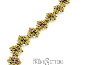 Demitria Bracelet Free Tutorial with Demi Rounds 8/0 AND 11/0-0