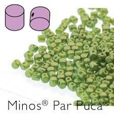 MIN-02010-25034 Pastel Pearl Olivine Minos par Puca 10 gram-0