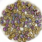 FN-00030-98549 California Green Forget-Me-Not Beads 50 Pc.-0