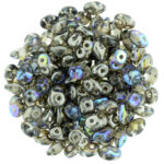 SD-00030-98537 Crystal Graphite Rainbow 10 gram SuperDuo-0