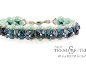 Sweet Alyssum by Maria Teressa Morán, with Pinch Beads-0