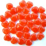 0050031  Red Melee Heart 30 Pc-0