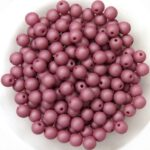 04-R-02010-29565 Saturated Hyacinth Violet Round 4 mm. 100 Pc.-0
