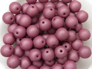 06-R-02010-29565 Saturated Hyacinth Violet Round 6 mm. 50 Pc.-0