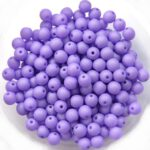 04-R-02010-29570 Saturated Lavender Round 4 mm. 100 Pc.-0