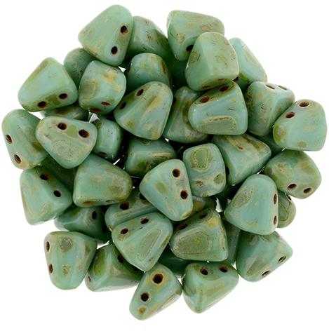 NB-63130-86800 Green Turquoise Picasso Nib-Bit™ 10 gram-0