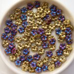 FN-00030-98545 California Violet Forget-Me-Not Beads 50 Pc.-0
