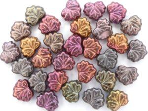 Maple Leaf Bead