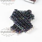 Link to the FREE tutorial: Simplicious Bracelet by Sabine Lippert-0