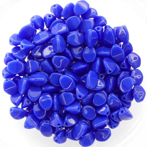 PI-33050 Opaque Blue Pinch Beads 10 gram-0