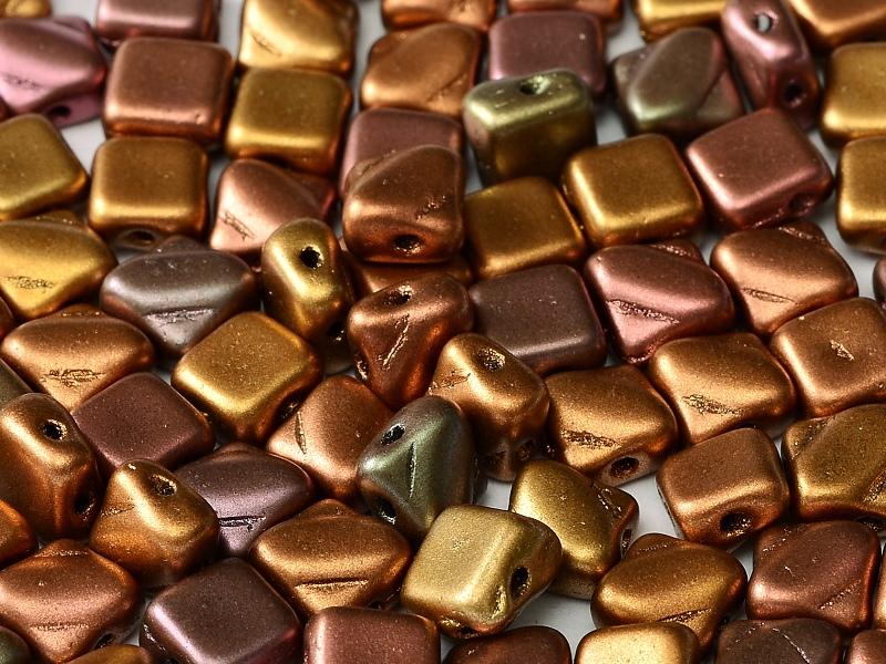 SL-00030-01640 Silky Bead, Crystal Silky Violet Rainbow30 Pc.-0