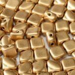 SL-00030-01710 Silky Bead, Crystal Silky Gold 30 Pc.-0
