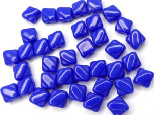SL-33060 Silky Bead, Opaque Royal Blue 30 Pc.-0