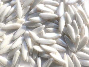 0140039 Lustered Chalk White daggerbead 16 x 5 mm. 20 St.-0