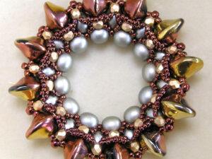 DIONE-GOLDRUSH Pendant by Peggy Heidrich KIT-0