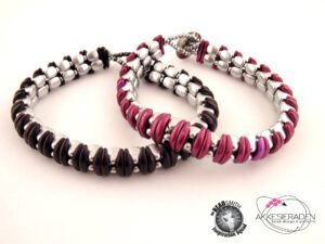 So Cute Bracelet, by Akke Jonkhof, free tutorial with Nib-Bit Beads.-0