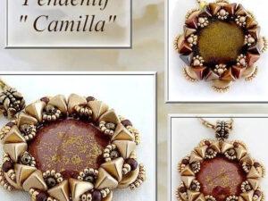 Pendentif Camilla: Gratis Patroon bij Cabochons par Puca®-0