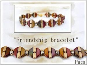 Friendship Bracelet Gratis Patroon bij Tinos® par Puca® -0