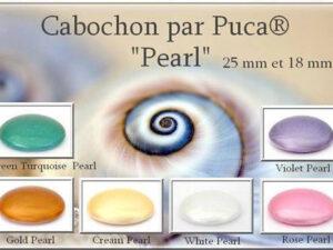Cabochons Par Puca® Pearl