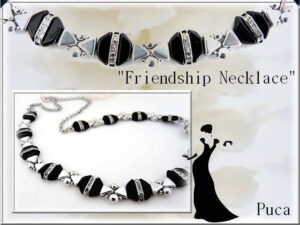 Friendship Collier Gratis Patroon bij Tinos® par Puca® -0