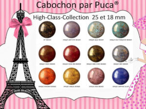 Cabochons Par Puca® High Class Collection