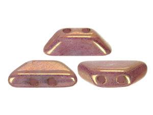 TIN-03000-14496 Opaque White Violet Gold Ceramic Look, Tinos par Puca -0