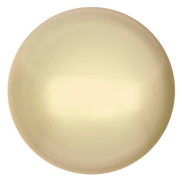 CP-18 Cream Pearl Cabochon Par Puca® 18 mm. Round-0
