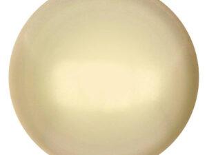 CP-25 Cream Pearl Cabochon Par Puca® 25 mm. Round-0