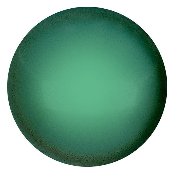 CP-25 Green Turquoise Pearl Cabochon Par Puca® 25 mm. Round-0