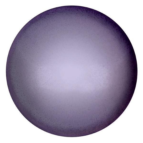 CP-25 Violet Pearl Cabochon Par Puca® 25 mm. Round-0