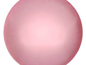 CP-25 Rose Pearl Cabochon Par Puca® 25 mm. Round-0