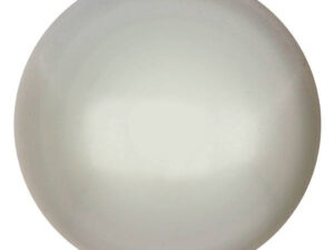 CP-25 White Pearl Cabochon Par Puca® 25 mm. Round-0