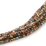 2FP-00030-98533 Fire Polished Crystal Copper Rainbow 2 mm.-0