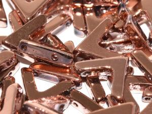 AVA-00030-27100 Crystal Full Capri Gold AVA Beads 10 Pc.-0