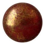 CP-18 Opaque Choco Bronze Cabochon Par Puca®  18 mm. Round-0