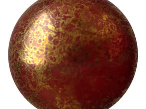 CP-25 Opaque Choco Bronze Cabochon Par Puca® 25 mm. Round-0
