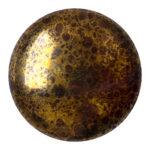 CP-25 Opaque Dark Choco Bronze Cabochon Par Puca®  25 mm. Round-0