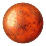 CP-25 Opaque Hyacinth Bronze Cabochon Par Puca®  25 mm. Round-0