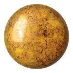 CP-18 Opaque Jonquil Bronze Cabochon Par Puca®  18 mm. Round-0