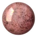 CP-18 Opaque Rose Bronze Cabochon Par Puca®  18 mm. Round-0